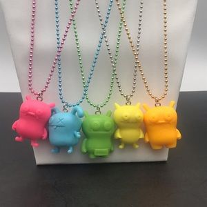 OOAK UglyDolls Character Bright Necklaces! (A)